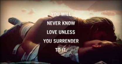 surrender-to-love