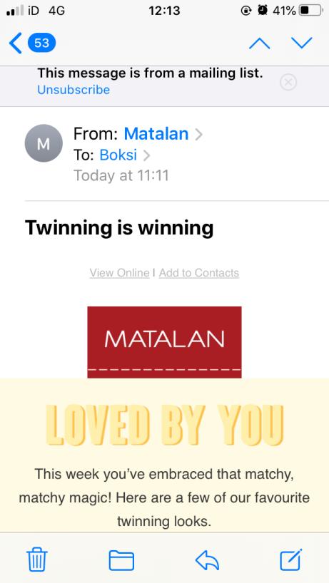 Twinning is winning
